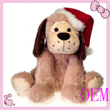 Hot selling promotion christmas singing dog