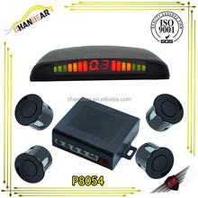 4 Parking Sensors LED Display Car Backup Reverse Radar System Kit Sound Alert run freely car parking sensor system