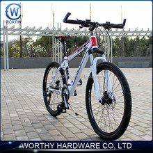 hot sale 26inch mtb bikes with double disc brake aluminum alloy for light weight