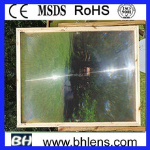 acrylic material fresnel lens used solar equipment for sale