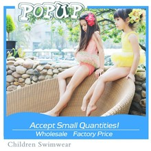 2015 hot children swimming suit girl lace dress Fashion princess wholesale kids swimwear for girls
