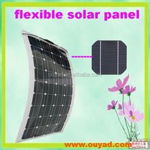 100W Film Thin Solar Flexible Panels Monocrystalline