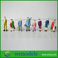 1:87 resin miniature standing model human figure
