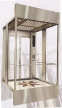 Small Space MR Machine Glass Wall Home Lift