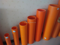 Underground electric cable protection PVC-C padding pipe