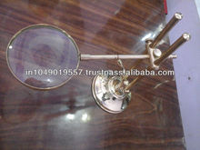 Magnifying Glass With Full Brass Stand