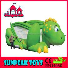 SL-1322 Green Dragon Theme Inflatable Combo Slide