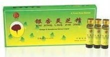 Health care food -Ginkgo Biloba &Ling Zhi Oral Liquid