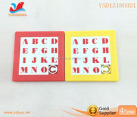 ABS material kids custom puzzle game for sale