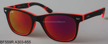 2015 high quality cheap plastic wayfarer UV400 sunglasses
