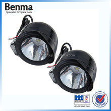 3W LED Front Metal Headlight Spot Light Lamp White for motorcycle,best price headlights