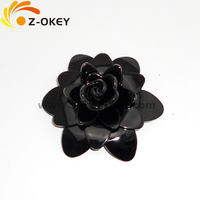 Chic acrylic bracelets,C style bracelet with different flower shapes