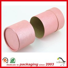 Custom Cardboard Canisters food grade packaging tube
