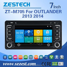 hot new product car dvd cd player for Mitsubishi OUTLANDER 2013 2014