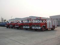 scale model water and foam 6000L fire truck tender