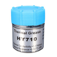 HY710 10g Silver Silicone Compound Thermal Conductive Grease Cooling Cooler Silicone Grease For CPU Heatsink