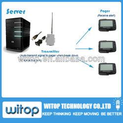 server case break down alert system