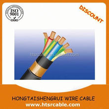 Hot sale CU/AL Conductor PVC/Rubber Insulation 450/750V Hook Up AWG 6 wire