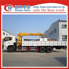 Driving type 6x4 XCMG hydraulic mobile 8 ton truck mounted crane