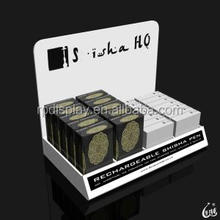 Manufacturer supplies exquisite white acrylic cosmetic counter display