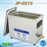 Free shipping ultrasonic cleaner for facial tools sterilizing JP-031S,6.5L,3 transducers