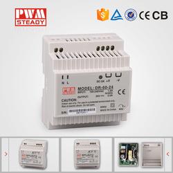 factory outlet 60W single output DIN Rail 5v 12v dc switch power supply