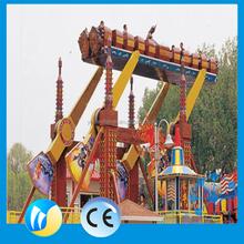 Outdoor amusement park rides flying carpet used amusement park for sale