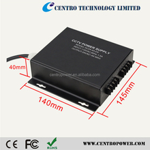 Simple Solution Power Supply Unit 4CH 5A 12V AC to DC Adapter CCTV Power Supply