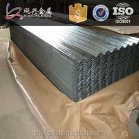 Alibaba Website 24 Gauge Clear Galvanized Roofing Sheet