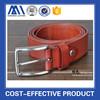 OEM High quality wide adult men genuine black leather belts