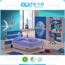 fancy durable china kid furniture/kid bed 8336