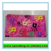 Pink hand print gift pencil bag pen pencil pouch,gift pencil bag