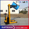 Warehouse Hydraulic Semi Electric Oil Drum Truck (with CE)