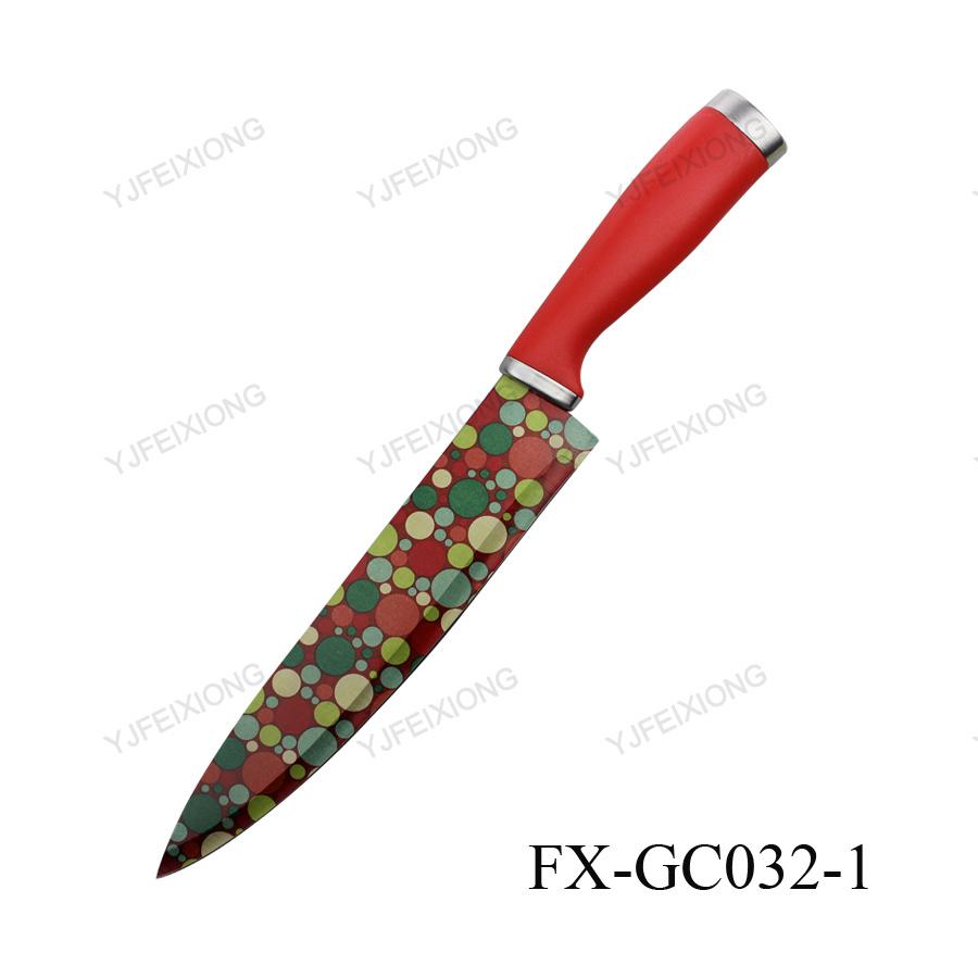 gc032 1 coated blade kitchen knife chefs used knives for sale buy kitchen knife kitchen wares. Black Bedroom Furniture Sets. Home Design Ideas
