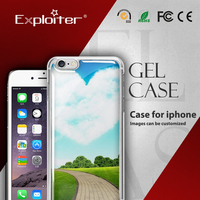 New style design eco tpu handphone cover case for funny iphone 5s cases