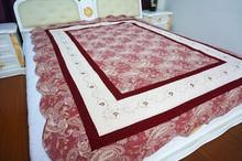 Woven Technics lint fabric quilt
