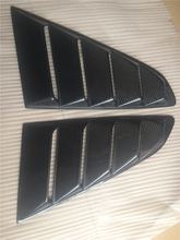 FRP Material Car Window Fender Scoop Vent Louver Cover For Mustang