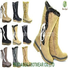 2014 New Product High Quality Ladies Fashion Snow Boots