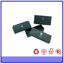 hochwertige matte schwarze pappe geschenkkarton