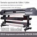 vívidos gráficos de calidad fotográfica impresora dx5 Alta resolución 1440 x 1440 dpi máquina impresora solvente