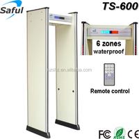 Wholesale newest distinctive waterproof TS-600 long range walk through metal detector door