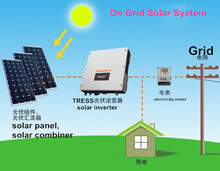 PV power on grid inverters 5KW with VDE,G83, SAA ,CE certificate