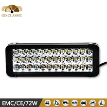2015 Hot sale ! CL9031-72 , 8''72W off road led light bar, 10-30V IP67 waterproof of led light bar used for Jeep, Motorcycle