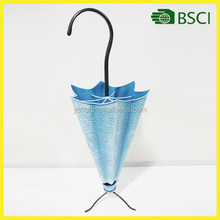 YS14318 popular tear open outfit metal umbrella flower holder handicraft