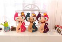 Wholesale Cute stuffed small plush toy cat, cat plush for sale/valentine present