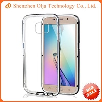 High quality cell phone PC bumper+TPU back cover case for Samsung galaxy s6