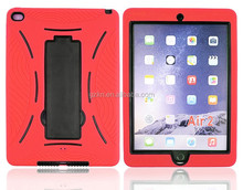 For Apple iPad Air 2 portable PC silicone materials back skin cover