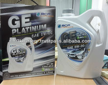 BCP GE Platinum 5W-30 Fully Synthetic Automotive Lubricant