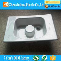 Large OEM plastic white vacuum formed water container