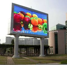 2012 new invented full color p10 high definition rs232 led digit display